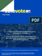 +1 the Vote Case Study
