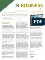 Dublin Chamber November 2010 Newsletter