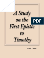 A Study on the First Epistle to Timothy by Jesse C. Jones
