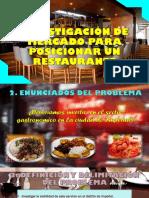 Investigación de Mercado Para Posicionar Un Restaurante
