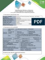 Guía para el desarrollo del componente práctico Paso 5 y 6