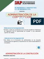 Administración en La Construcción (1)