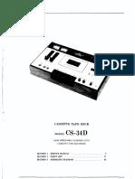 Akai CS-34D Service Manual