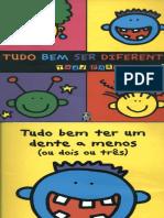 Livro Tudo Bem Ser Diferente