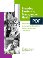 Breaking Barriers to Transgender Health Care