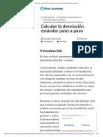 Calcular La Desviación Estándar Paso a Paso (Artículo) _ Khan Academy