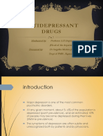 Antidepressants Drug Snig