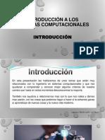 Introducción a Los Sistemas Computacionales