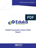 Eduk8 Community Census 2018 Report