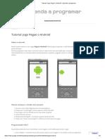 Tutorial_ Jogo Pegue o Android - Aprenda a Programar