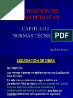 Liquidacion de Obras Publicas - Cap I - Normas Actuales.pdf
