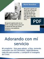 20180107 - Adorando Con Mí Servicio