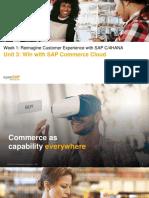 OpenSAP c4h1 Week 1 Unit 3 CommerceCloud Presentation