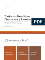 trastornos Disociativos Somatomorfos