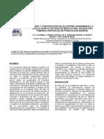 Diseno y Construcción de Un Sistema Experimental de Gas