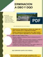Determinacion de Dbo y Dqo