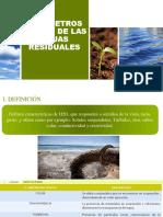 Parámetros Físicos de Las Aguas Residuales