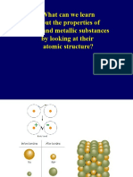 Metallic and Ionic Bonding and Properties