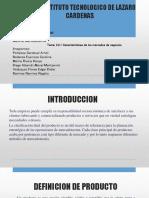 4.1 Producto y Clasificacion de Productos