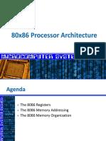 The 8086 Architecture
