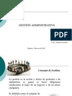 Clase 1 Gestión Administrativa