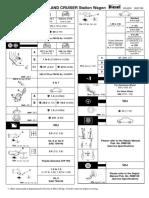 Landcruiser 200 service data sheet