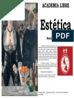 Afiche Seminario Estética de Academia Libre