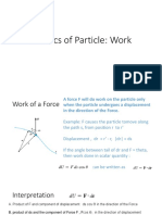 Lesson Week 14 Kinetics of Particle Work