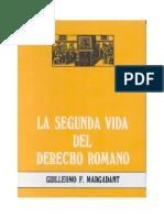 MARGADANT - Segunda Vida del Derecho Romano.pdf