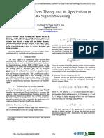 Zhang, Wang, Han - 2010 - Wavelet Transform Theory and Its Application in EMG Signal Processing Copia