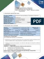 Guía de Actividades y Rúbrica de Evaluación - Paso 2 - Buscar y Evaluar Información