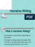 narrative writing ppt