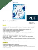 Planificación Anual De Música. cary .docx