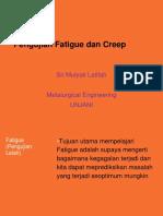 Pengujian Fatigue Dan Creep