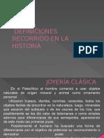 JOYERÍA Escuela