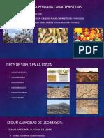 Suelo de La Costa Peruana Caracteristicas