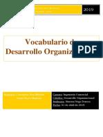 Glosario Desarrollo Organizacional