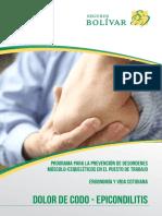 Ergonomia y Vida Cotidiana - Dolor de Codo - Epicondilitis[24647]