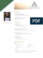 amber resume 2 2019 updated  2
