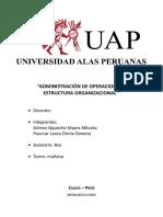 ADMINISTRACIÓN DE OPERACIONES Y ESTRUCTURA ORGANIZACIONAL.docx