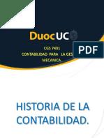 Historia de La Contabilidad.