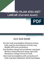 Akuntansi Pajak Atas Aset Lancar