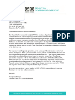 Project on Government Oversight ~ Letter to Apex Clean Energy