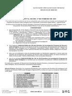 Resolución Semilleros i p 2019