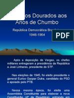 História Geral PPT - República Populista