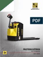 Paleteira Elétrica P2.0 - 2.2 POWER PLUS