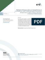 Múltiplos Enfoques sobre as Competências na Educação a Distância