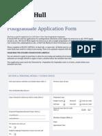 Admissions Postgrad Application Feb10