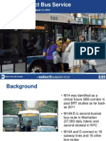 MTA's M14 SBS Proposal