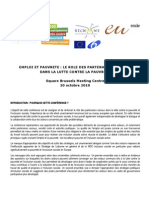 OSE+BPEU Conference Employment+Poverty Recommendations FR